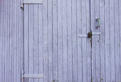 Деревянная покрашенная предпосылка стены Стоковые Фотографии RF