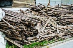Деревянная подготовка Стоковая Фотография RF