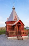 Деревянная часовня Florus и Laurus Стоковое фото RF