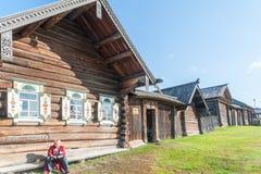 Деревянное имущество крестьянина XIX века Стоковые Изображения RF