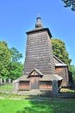 деревянное католической церкви греческое Стоковое Фото