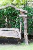 Деревянное качание Стоковые Фото