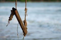 Деревянное качание Стоковые Изображения