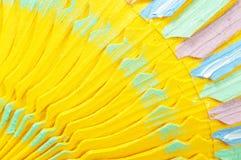 деревянное предпосылки цветастое Стоковая Фотография