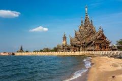 Деревянное святилище правды Стоковое Фото