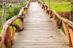 Деревянное тропа Стоковая Фотография