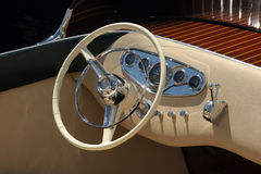 деревянное шлюпки классицистическое Стоковая Фотография RF