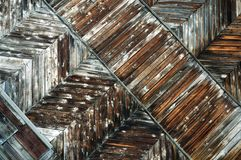 деревянное доски старое Стоковое Фото