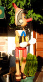Деревянное Pinocchio Стоковые Фотографии RF