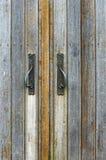 Деревянные двери Стоковые Изображения