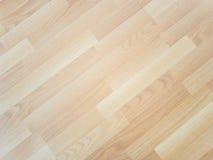 Деревянный ламинат пола Стоковое Изображение