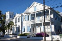 Деревянный дом в Key West Стоковая Фотография