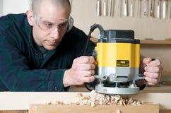 деревянный работник Стоковые Фотографии RF