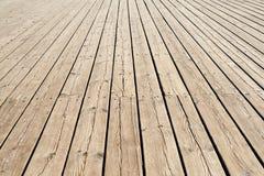 Деревянный тротуар Стоковые Фотографии RF