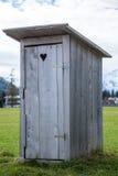 Деревянный туалет Стоковая Фотография
