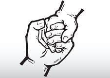держать рук Стоковые Фотографии RF