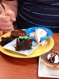Десерты Стоковые Изображения