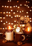 Десерт Christmastime Стоковая Фотография RF