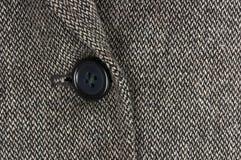 детализируйте одежду из твида куртки Стоковая Фотография