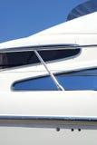 детализируйте яхту Стоковые Изображения
