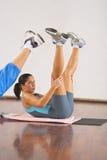 деталь aerobics Стоковые Фотографии RF