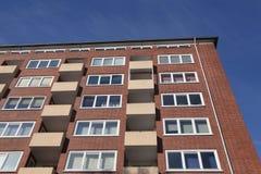 Здание апартаментов Стоковые Изображения RF