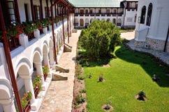 Детали монастыря Agapia правоверные Стоковые Изображения RF