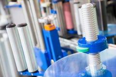 Детали промышленного оборудования Стоковые Фото