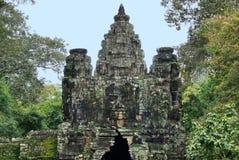 Деталь виска кхмера Стоковые Фото