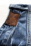 Деталь джинсов Стоковое Фото