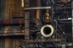 Деталь индустрии для изготовляя чугуна Стоковое Изображение RF