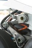 Деталь подвеса undercarriage самолета Стоковая Фотография RF