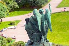 Деталь собора St Исаак в Санкт-Петербурге, России Стоковые Фотографии RF