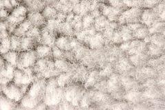 Деталь текстуры шерсти Стоковое Изображение