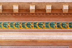 Деталь фасада Стоковые Изображения