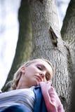 детеныши взрослой женщины Стоковое Изображение