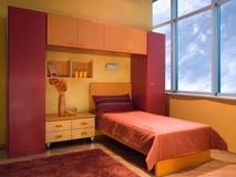 детеныши комнаты красивейшей конструкции нутряные самомоднейшие Стоковая Фотография