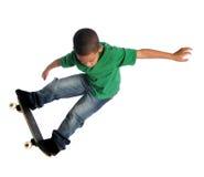 детеныши конька ребенка восхождения на борт Стоковое Фото