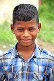 детеныши мальчика индийские Стоковое Фото
