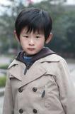 детеныши мальчика меланхоличные Стоковая Фотография