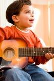детеныши музыканта Стоковая Фотография RF