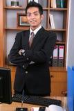 детеныши руководителя бизнеса Стоковое фото RF