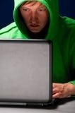 детеныши хакера Стоковое Фото