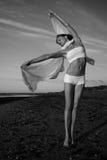 детеныши художнического состава тела женские Стоковые Изображения RF