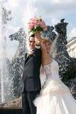 детеныши groom невесты Стоковая Фотография