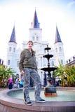 детеныши New Orleans девушки ультрамодные Стоковое фото RF