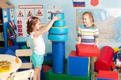 Дети в детском саде Стоковые Фото