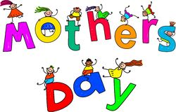 Дети дня матерей Стоковое фото RF