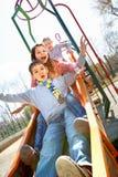 дети радостные Стоковая Фотография RF