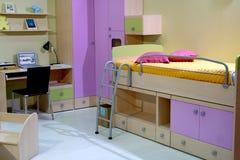 дети спальни Стоковая Фотография